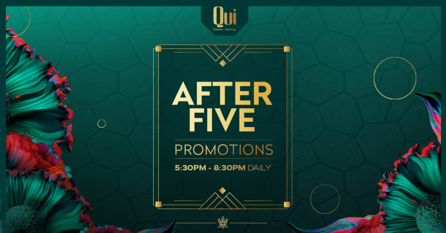 AFTER FIVE PROMOTIONS